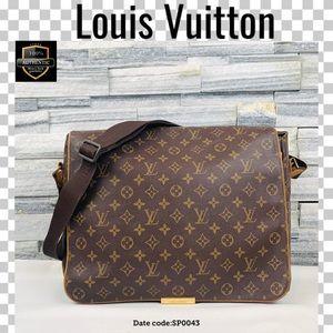 Louis Vuitton crossbody bag abbesses messenger bag